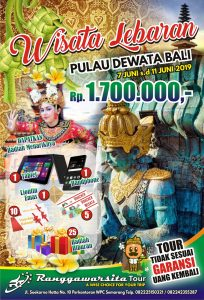 Open Trip Bali Lebaran 2019