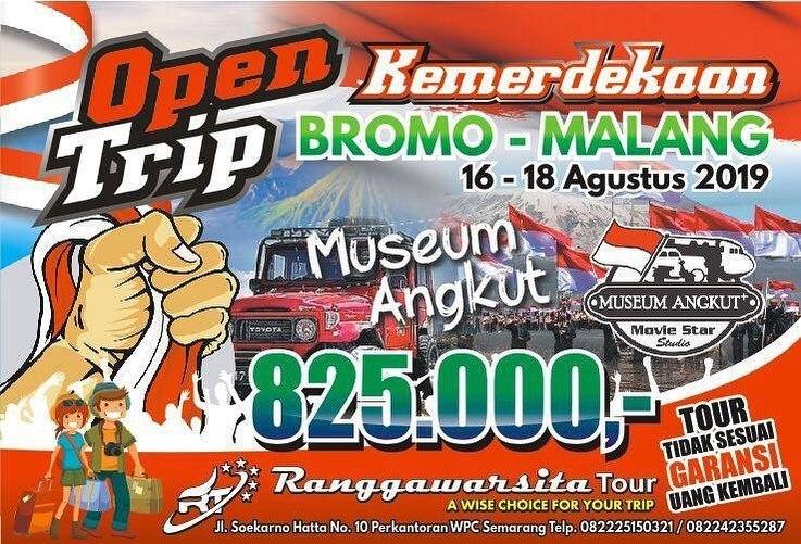 Open Trip Bromo Dari Semarang